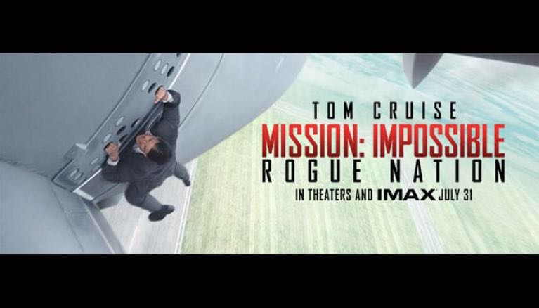 Mission Impossible Rogue Nation -  cover