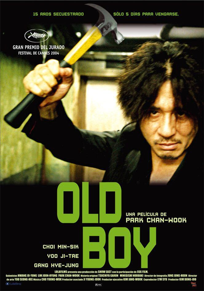 Oldboy - CED cover