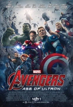 Avengers Age Of Ultron - Blu-ray cover