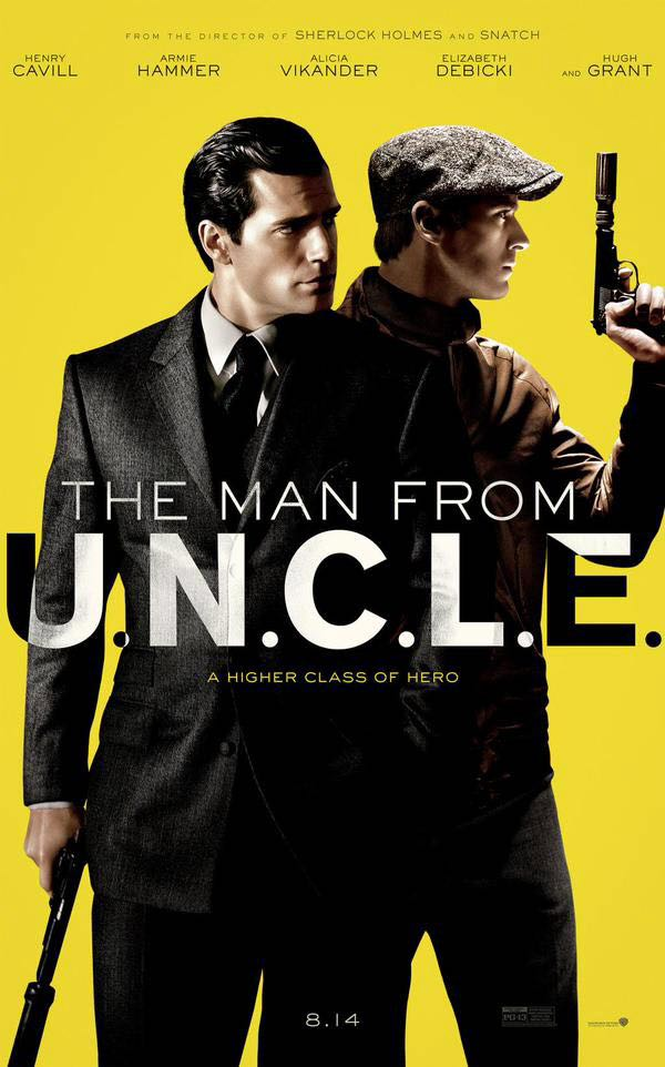 The Man From U.N.C.L.E. - DVD cover