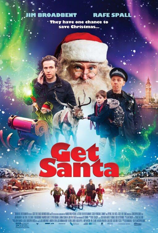 Get Santa - DVD cover