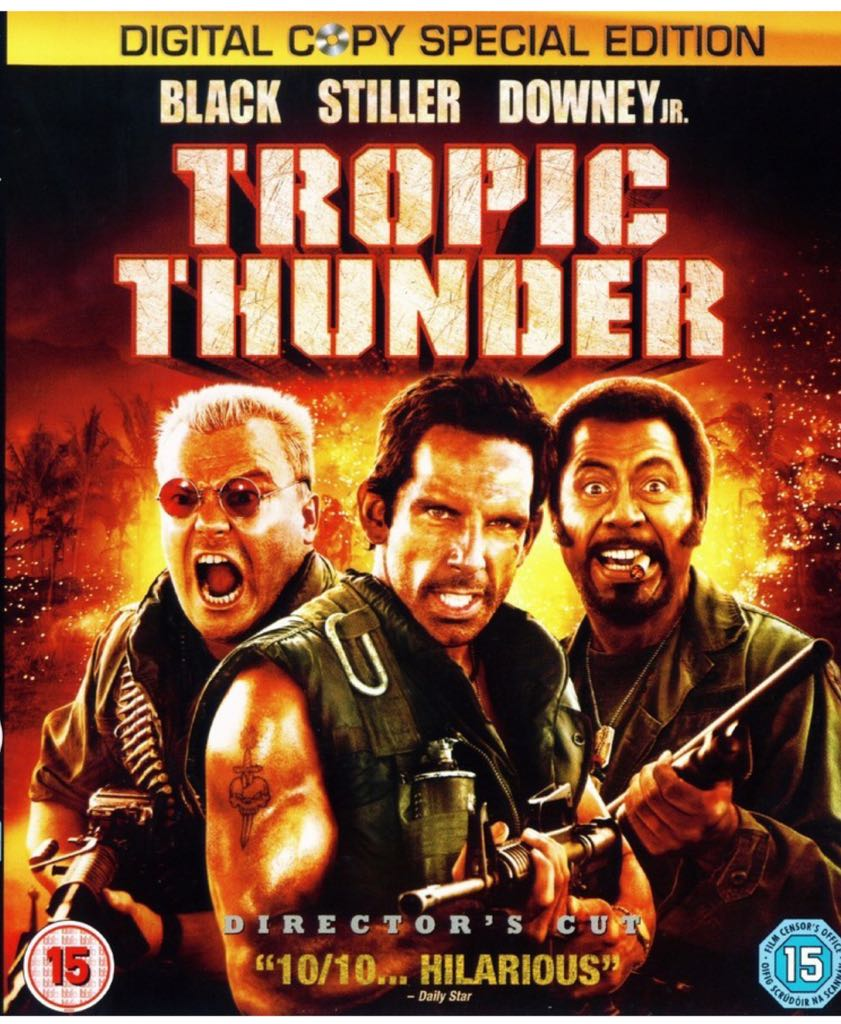 Tropic Thunder -  cover