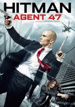 Hitman: Agent 47 - DVD cover