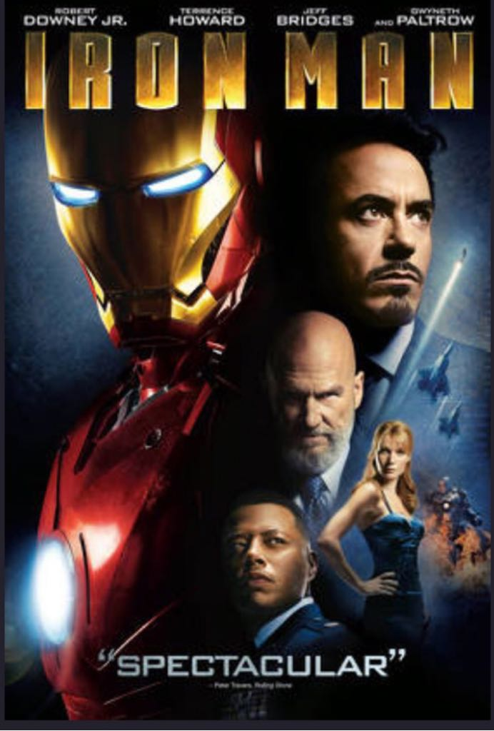 Iron Man -  cover