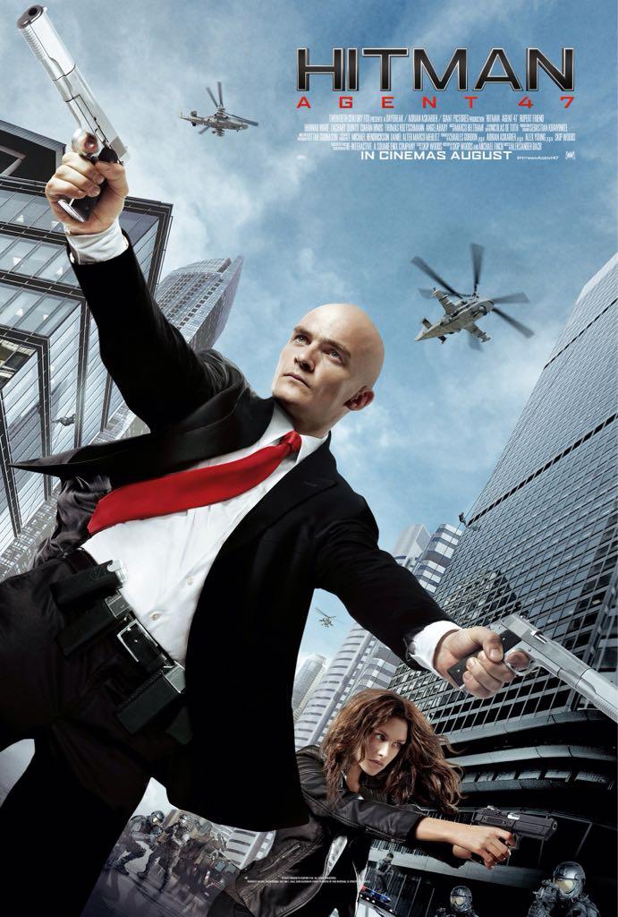 Hitman Agent 47 - Blu-ray cover