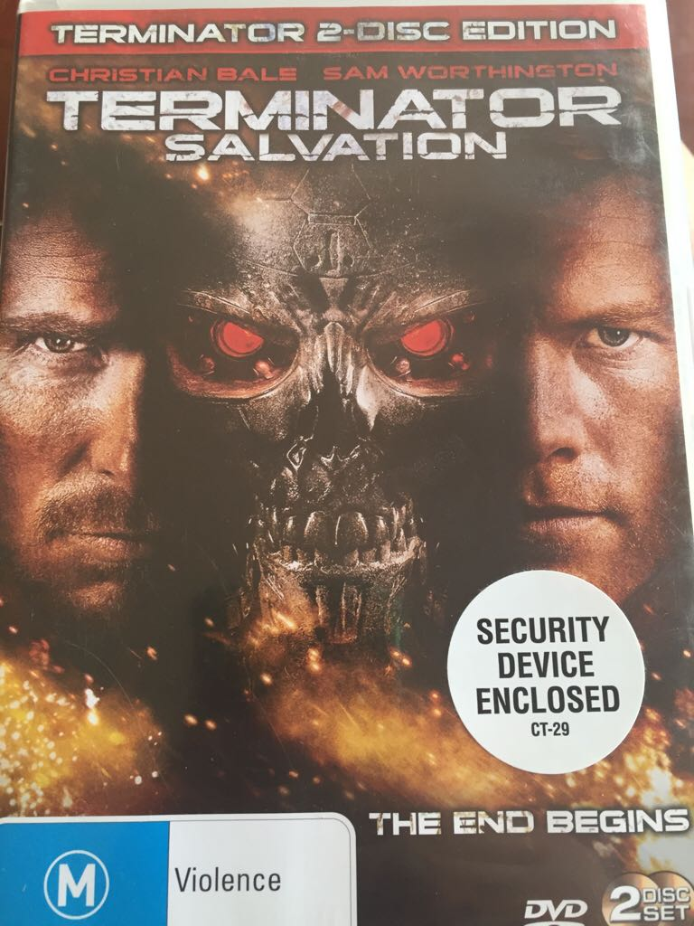 Terminator: Salvation -  cover