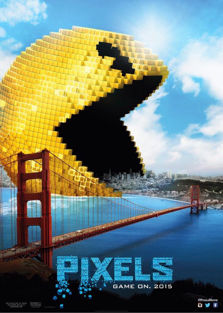 Pixels -  cover