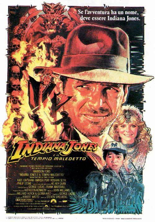 Indiana Jones E Il Tempio Maledetto -  cover
