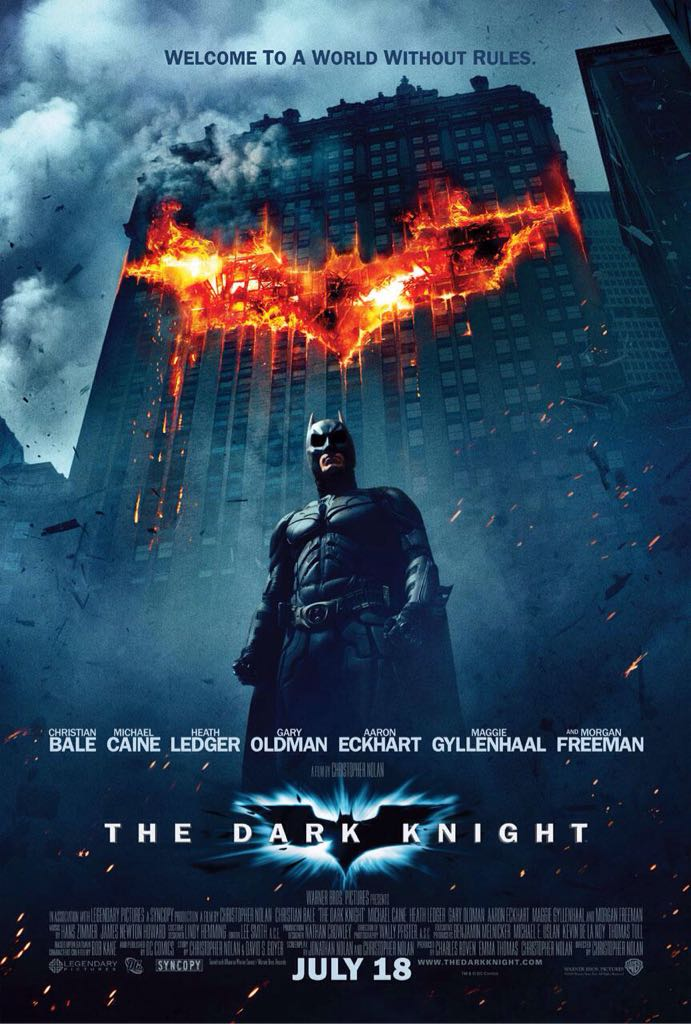 The Dark Knight -  cover
