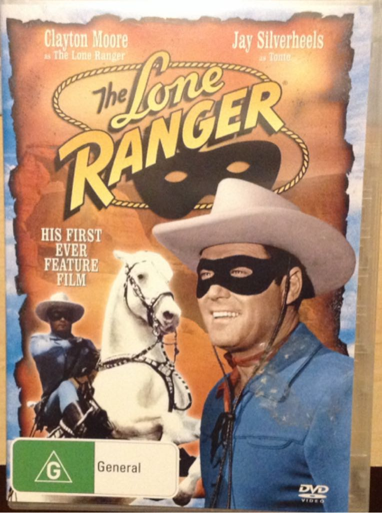 The Lone Ranger -  cover
