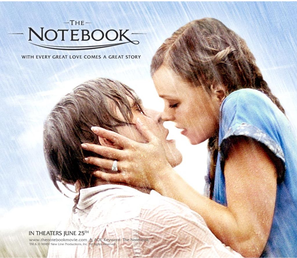 essay on the notebook movie