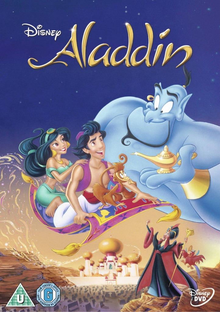 Disney's Aladdin -  cover