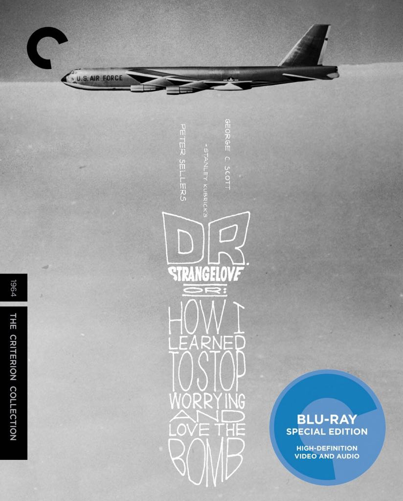 Dr. Strangelove or: How I Learned to Stop Worrying and Love the Bomb - Blu-ray cover