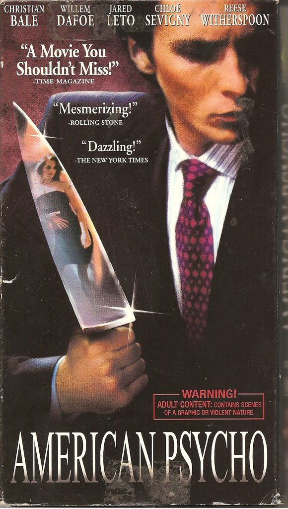 american psycho film essay Uncategorized american psycho film essay on requiem, creative writing visual art, critical thinking helps us to do all of the following except.