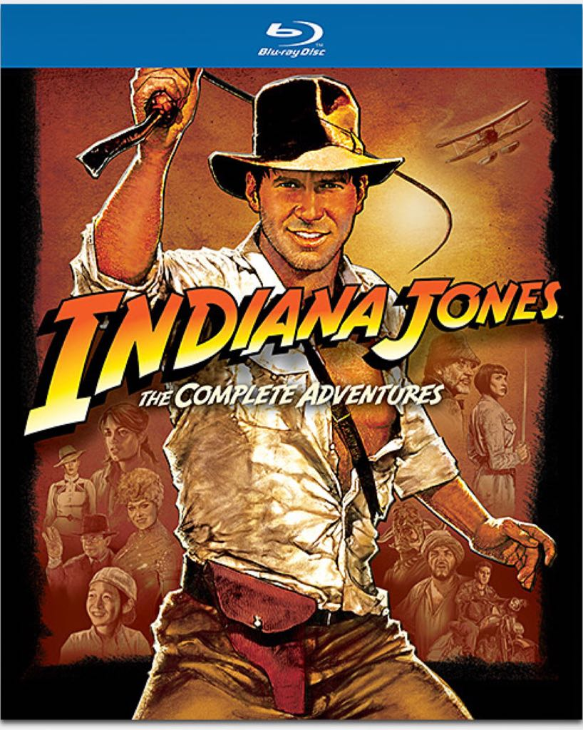 Indiana Jones The Complete Adventures -  cover
