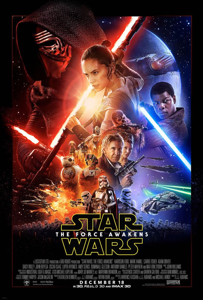 Star Wars: The Force Awakens -  cover