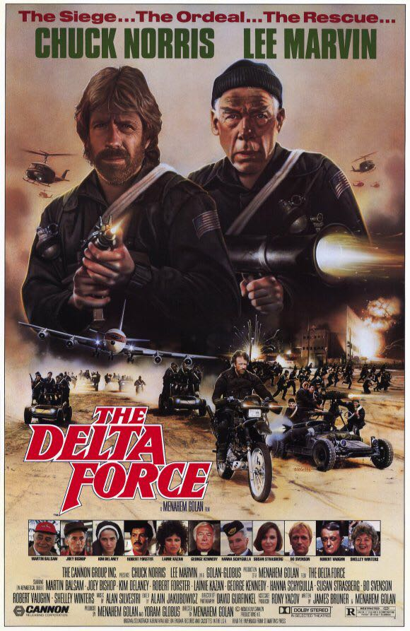 a review of the movie delta force