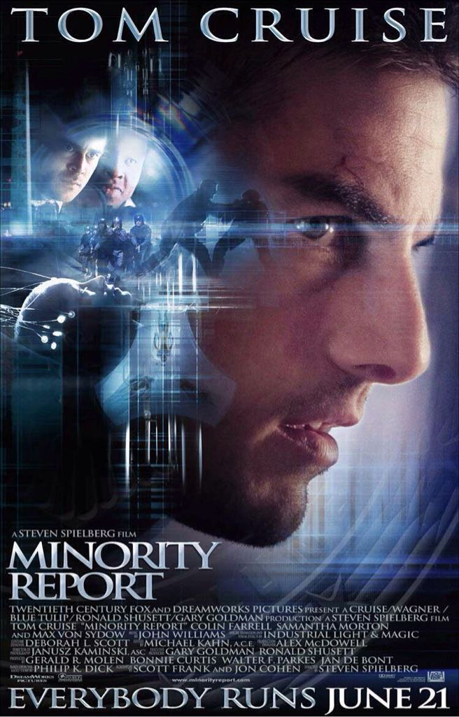 Minority Report -  cover