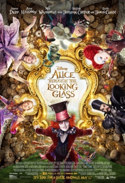 Alice Through The Looking Glass - DVD cover