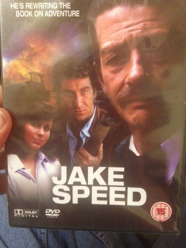 Jake Speed -  cover
