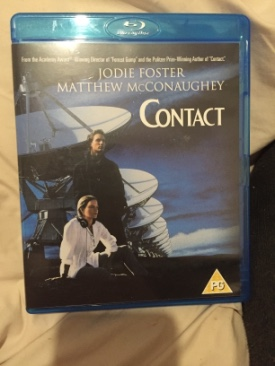 Contact - Blu-ray cover