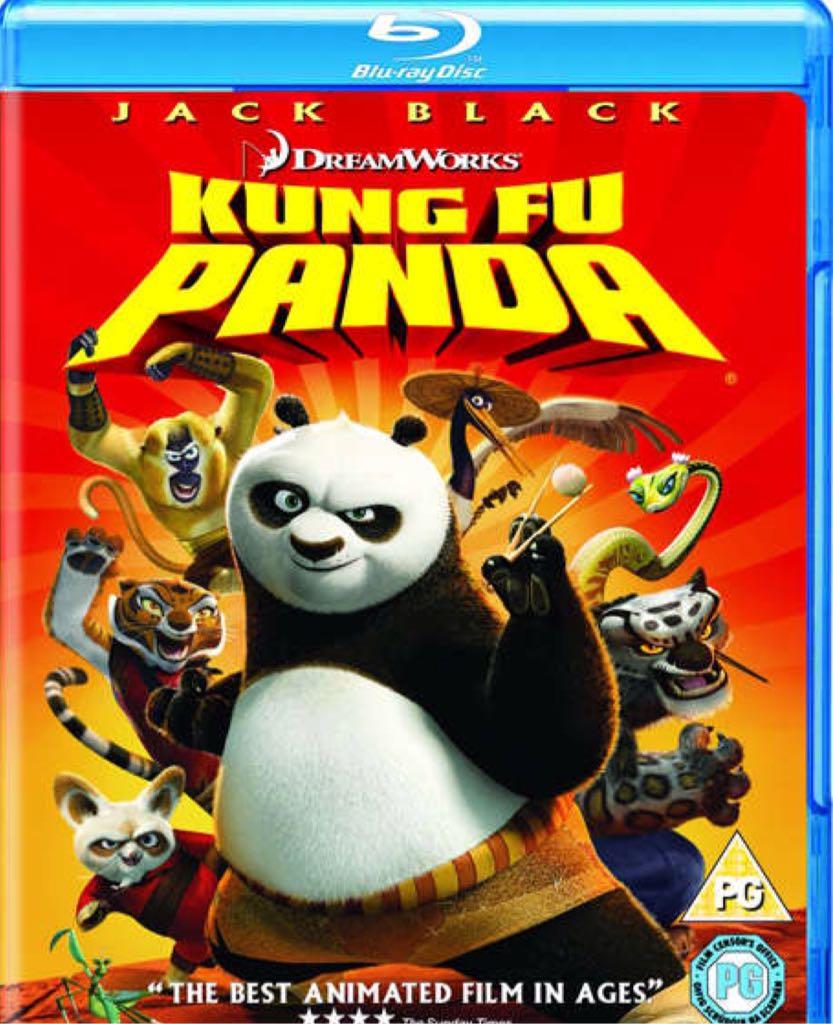 Kung Fu Panda -  cover
