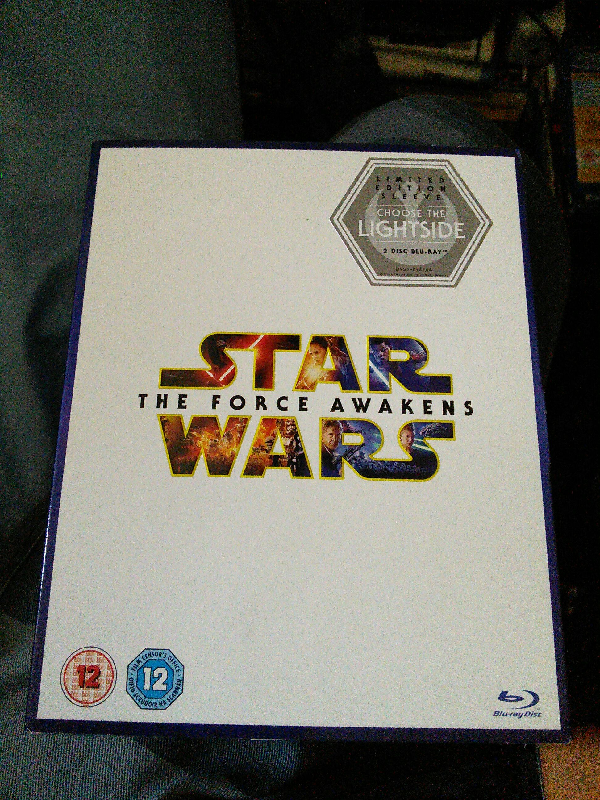 Star Wars Episode VII: The Force Awakens -  cover