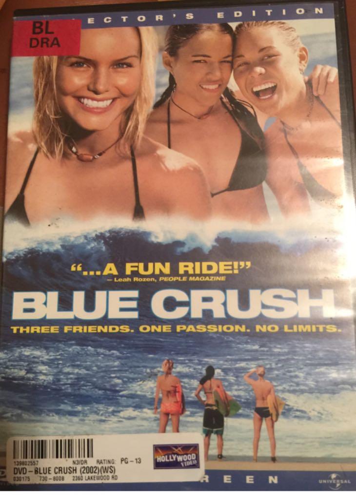 Blue Crush -  cover