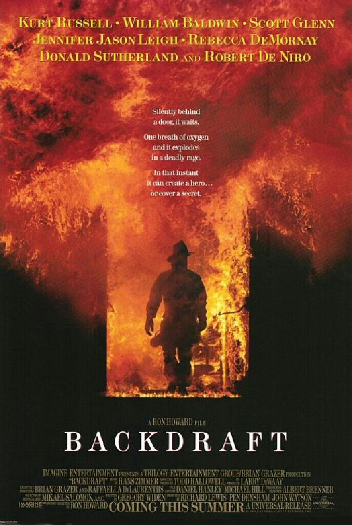 Backdraft -  cover