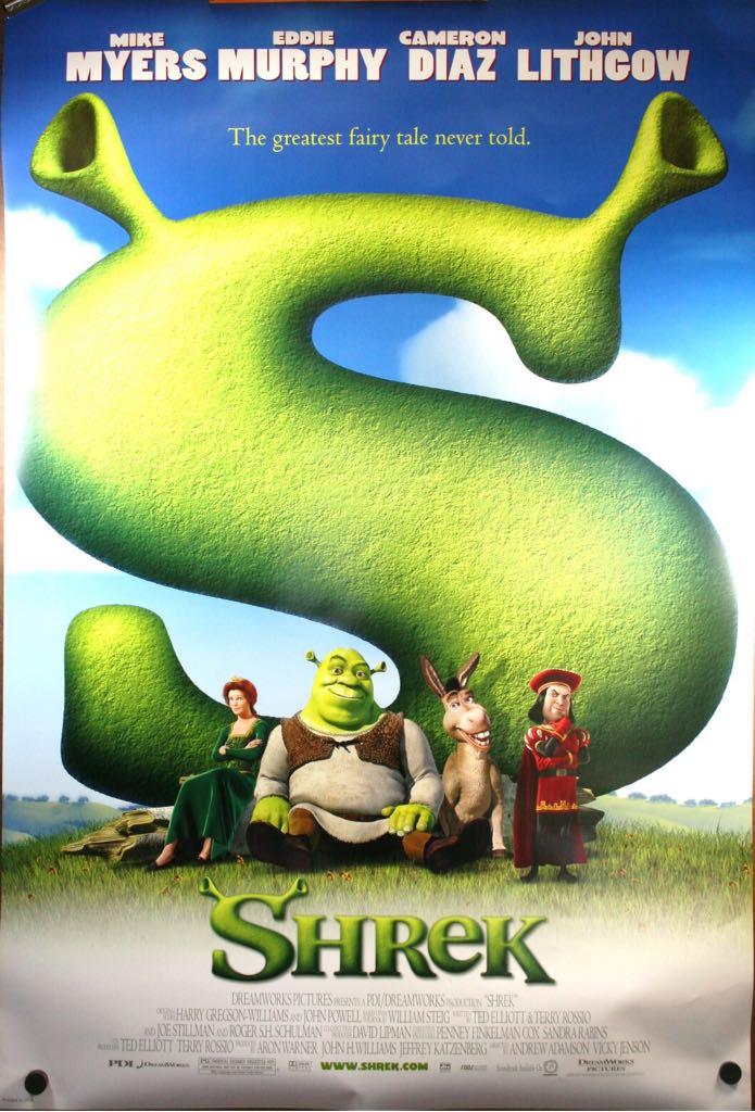 Shrek 1 -  cover