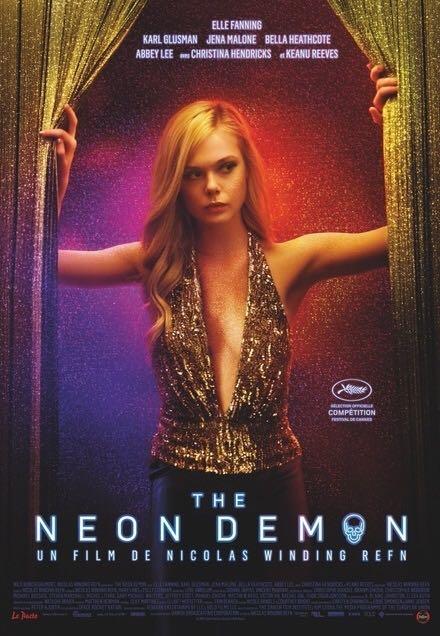The Neon Demon - Blu-ray cover