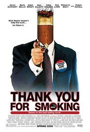Thank You for Smoking -  cover