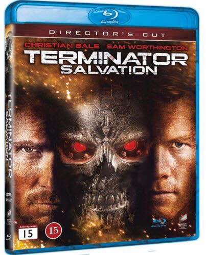 Terminator 4: Salvation -  cover