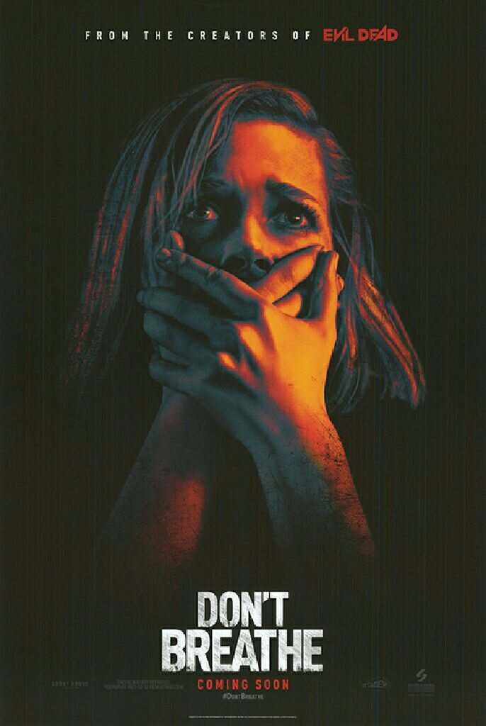 Don't Breathe - Blu-ray cover