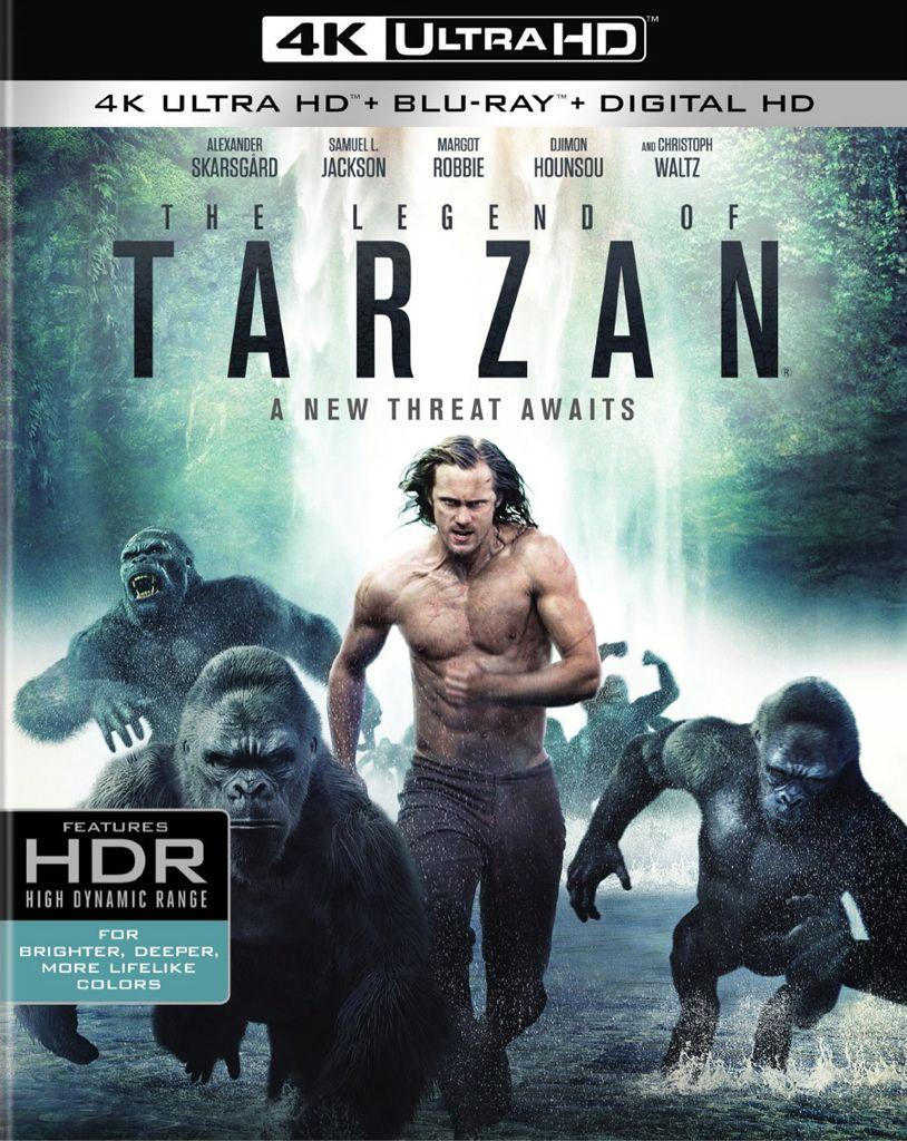 The Legend of Tarzan -  cover