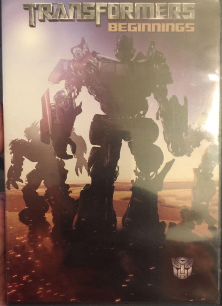 Transformers: Beginnings -  cover