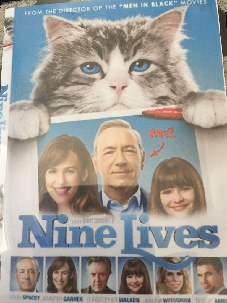 Nine Lives -  cover