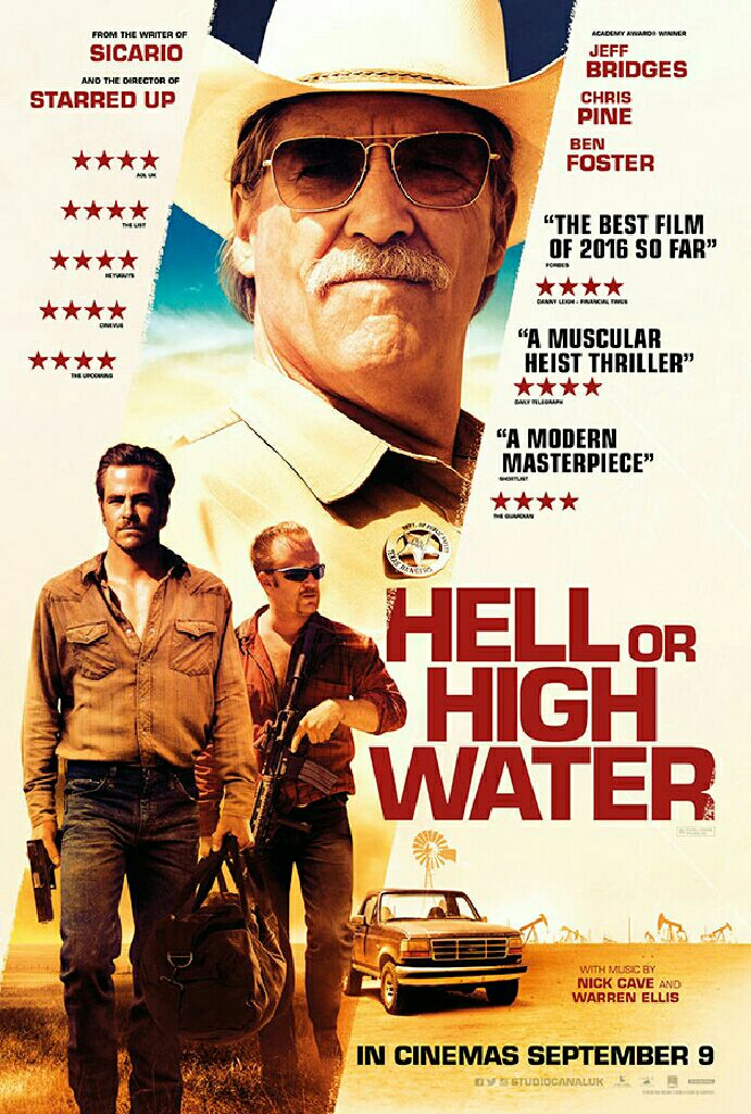 Hell Or High Water - Blu-ray cover