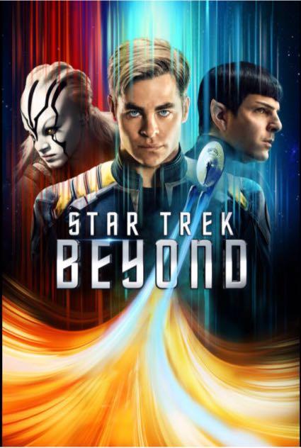 Star Trek 3: Beyond - DVD cover