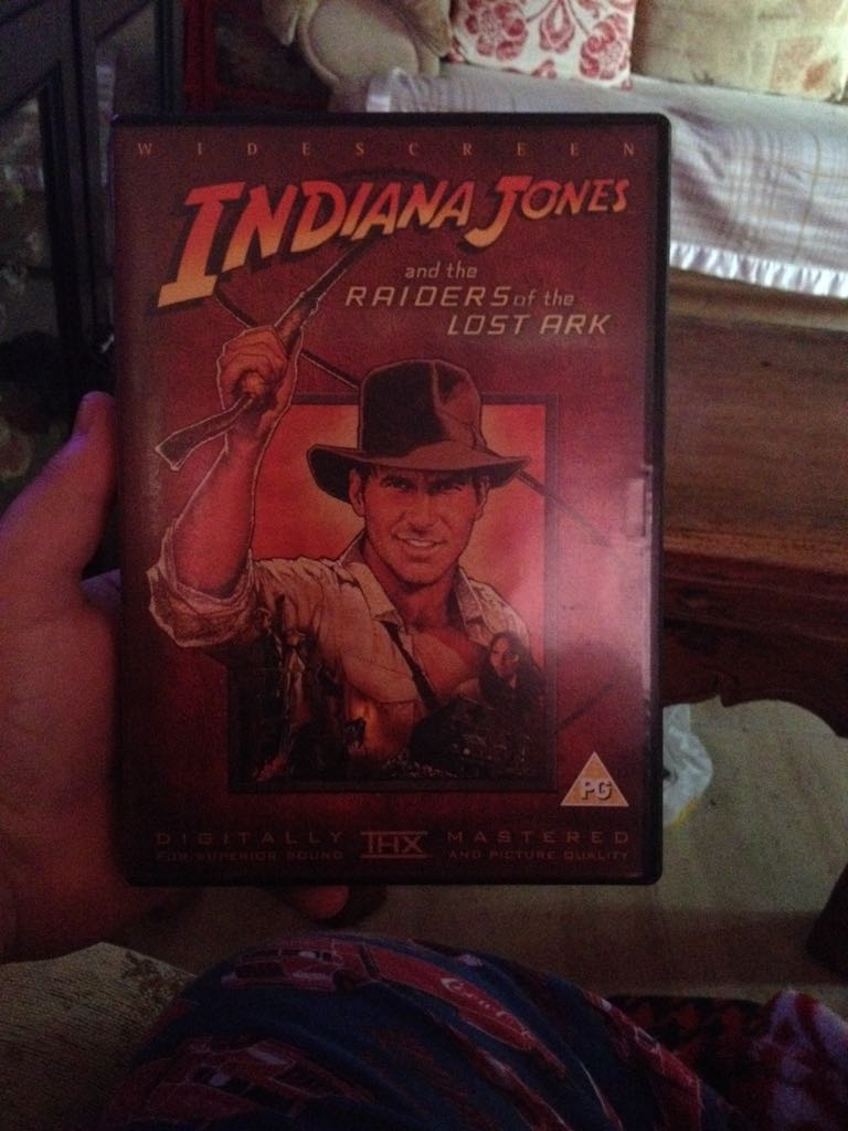 Indiana Jones And The Raiders Of The Lost Ark -  cover