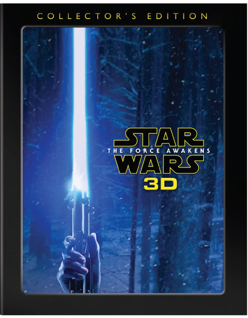 Star Wars The Force Awakens 3D - Blu-ray cover