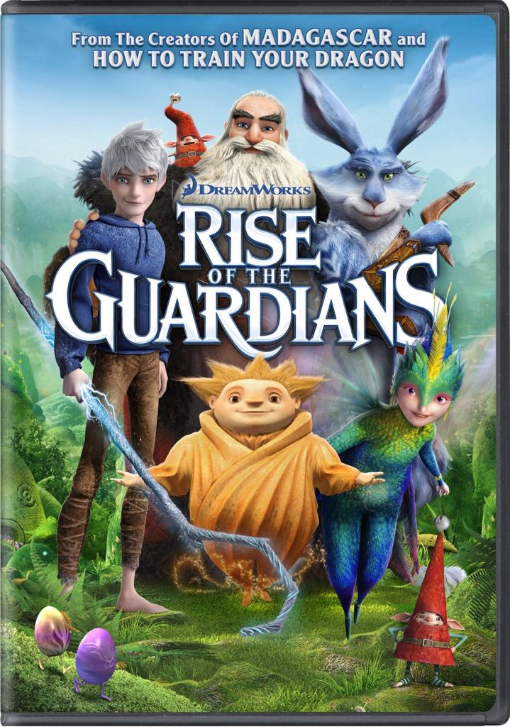 Rise Of The Guardians -  cover