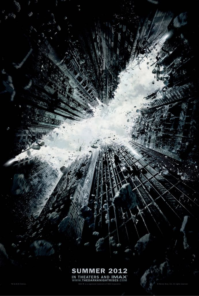 The Dark Knight Rises -  cover