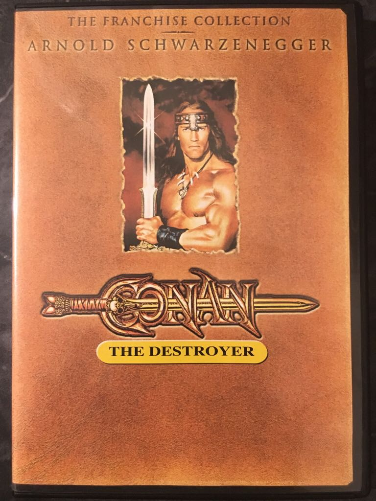 Conan The Destroyer -  cover