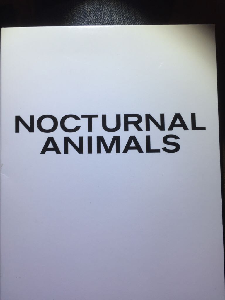 Nocturnal Animals -  cover