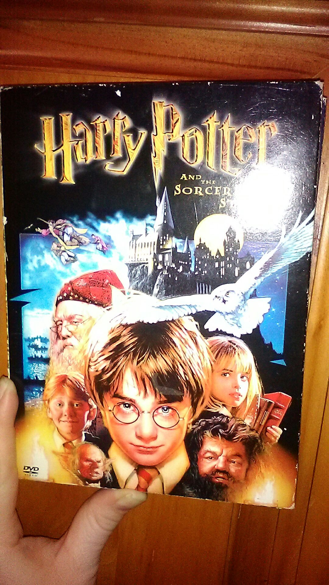 Harry Potter and the Sorcerer's Stone -  cover