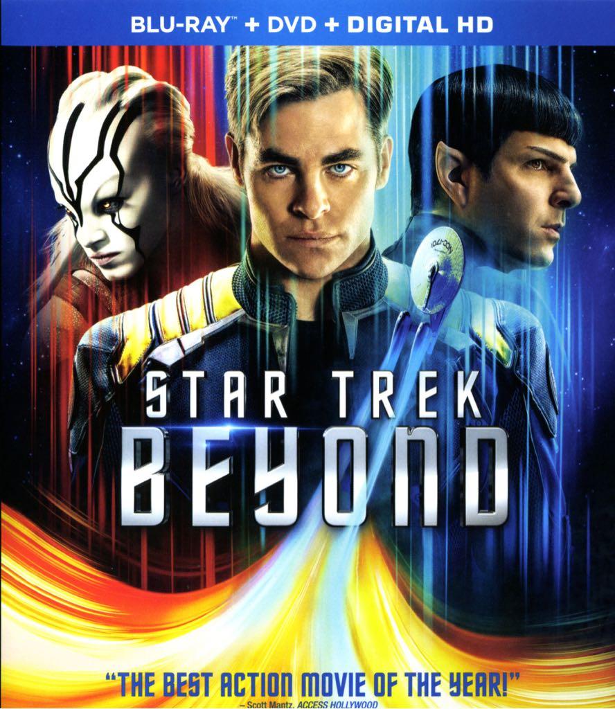 Star Trek Beyond - Blu-ray cover
