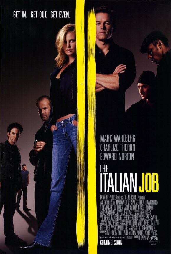 The Italian Job -  cover