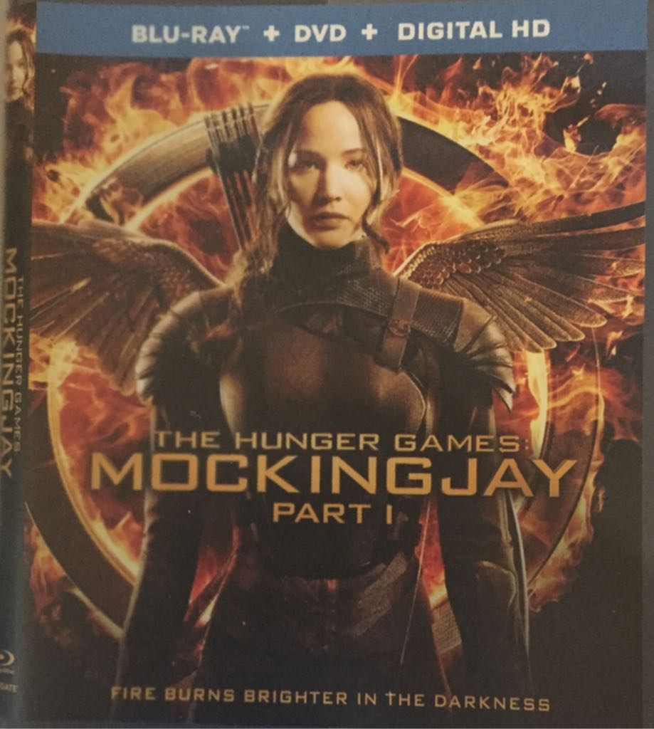 The Hunger Games: Mockingjay Part 1 -  cover