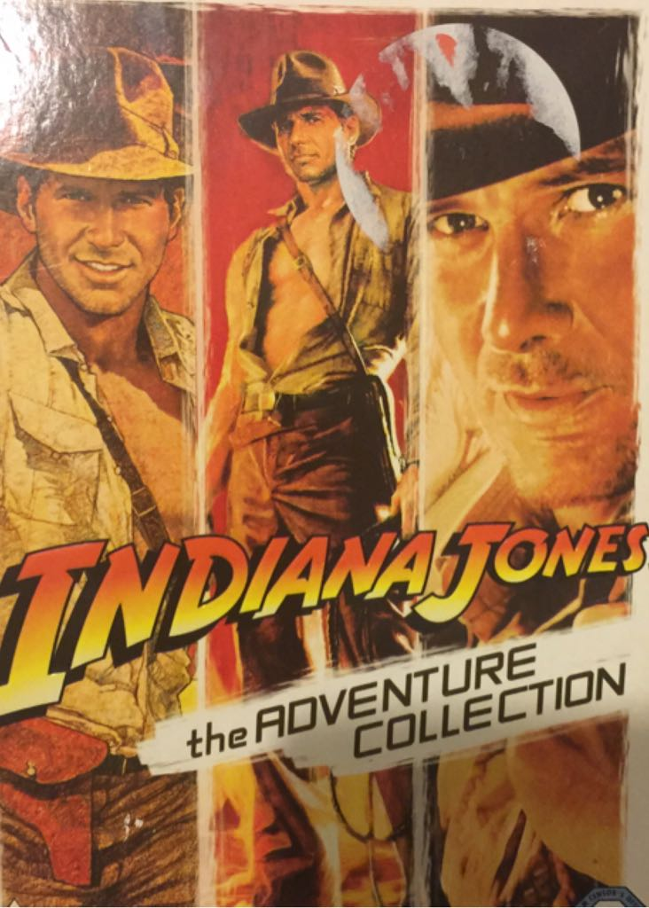 Indiana Jones: The Adventure Collection -  cover